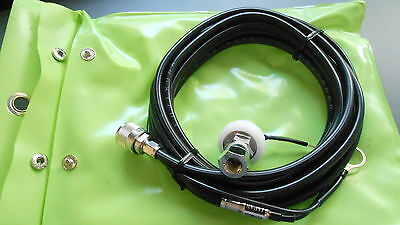 Comet 3/8-24 Deluxe Mobile Mount &5 Metres Of Pre-Wired Coax Brand New