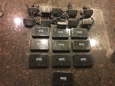 Lot Of 10 Wyse 920322-51L E01 Zero Client MultiPoint Workstation With AC Adapter
