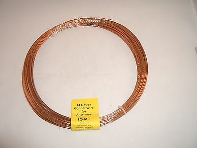 Antenna Wire - 14 Stranded Copper - 45 Metre Roll - Extremely Strong And Durable