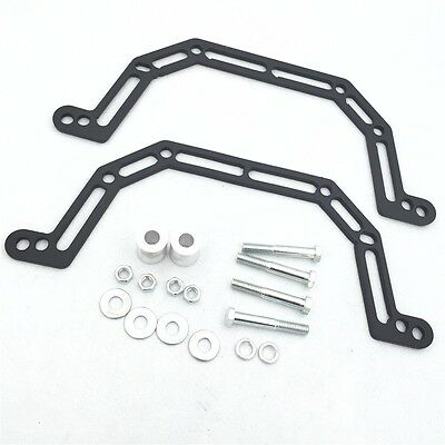"""X.Black 03-07 Lowering Kit Lowers Front 4"""" and Widens by 2""""For Polaris Predato"""