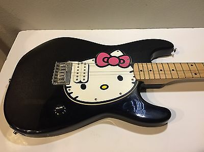 Hello Kitty Squier Stratocaster Strat Electric Guitar By Fender
