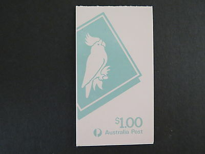 1985 Booklet 3 X 33C 1C Cockatoo Vending Mnh Mint Stamp Australia More Listed