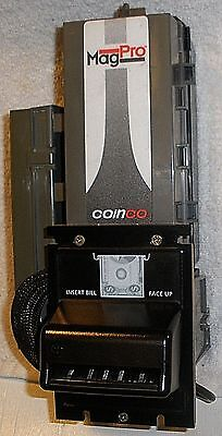 MagPro MAG50B Coinco Coin Bill validator accepts $1 only Upgrade