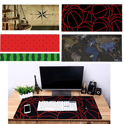 New Designs  Extended Gaming Wide Large Mouse Pad Mat Big Size Desk Mat 90x40cm