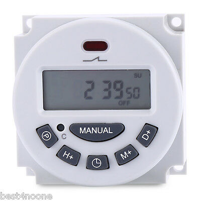L701 Microcomputer Time Switch LCD Digital Programmable Control Power Timer