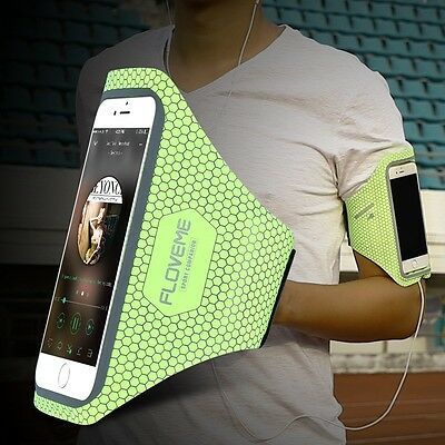FLOVEME Running Sport Armband Thin Soft Waterproof Jogging Case For iPhone Phone