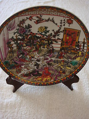 Antique Chinese Porcelain Famille Rose Plates Signed