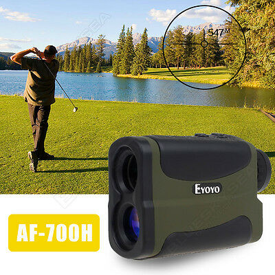 700M Golf Laser Rangefinder Angle Height Elevation Finder with Slope & Pinseeker