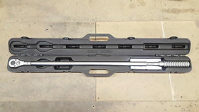 """STW706 - Sealey Torque Wrench Micrometer Style 3/4""""Sq Drive"""