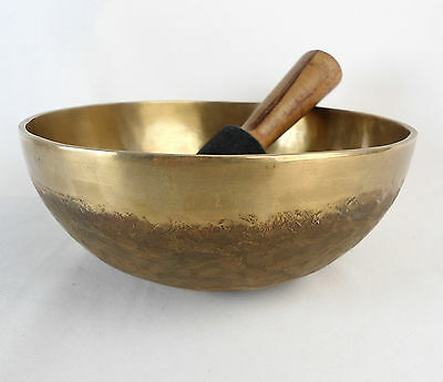 "Bol chantant tibétain ""Chaken"" 1215 gr. 21 cm - Népal singing Bowl"
