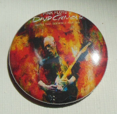 DAVID GILMOUR - Rattle That Lock Tour 2016 - RARE Collectors Badge PINK FLOYD