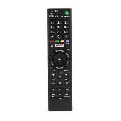 """Replacement Remote Control for Sony KDL75W855C Smart 3D 75"""" LED TV"""