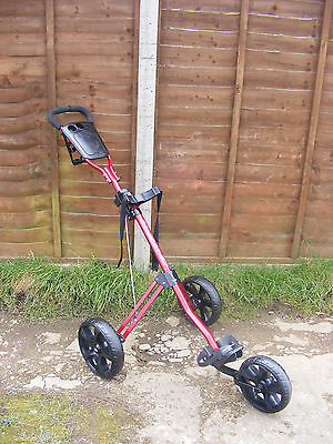 Lightweight Cruiser GX 3 Wheels Golf Push Trolley Buggy