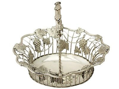 Antique Sterling Silver Sweetmeat Basket