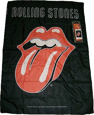 Rolling Stones Warhol  Poster Textile Flag New In Box