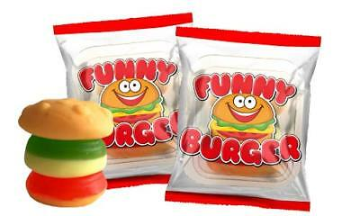 180 Mini Funny Fruchtgummi Burger Top Give Away Party Kindergeburtstag Messe