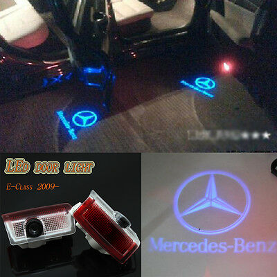 Laser LED Door courtesy Shadow Projector Light For Mercedes-Benz E-class 10-2016