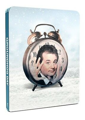 Groundhog Day (Limited Edition Zoom  Exclusive Steelbook) [Blu-Ray]