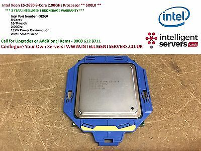Intel Xeon E5-2690 8-Core 16-Threads 2.90GHz Processor ** SR0L0 **