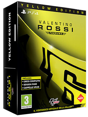 Valentino Rossi The Game Yellow Edition PS4 Playstation 4 IT IMPORT MILESTONE