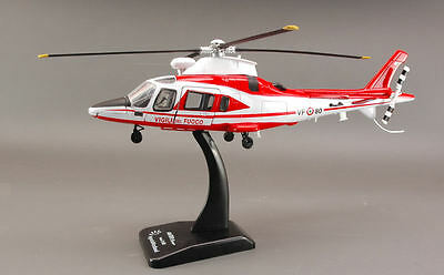 Agusta Westland AW109 Vigili Del Fuoco Helicopter 1:43 Model 25163 NEW RAY
