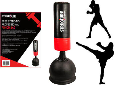Free Standing Punch Bag Professional Boxing 5.25Ft Heavy Duty Martial Art Kick