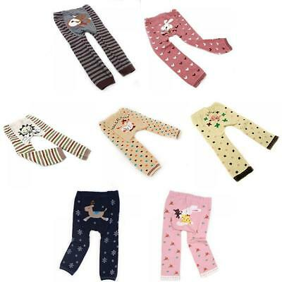 Cute Animal Style Toddler Lovely Girl Style Tights Baby Girls Trousers
