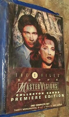 X-Files Topps MasterVisions Collector Cards Premiere Edition Complete Set [B99]