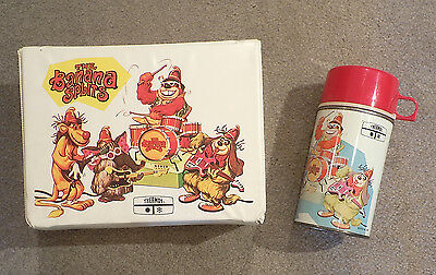 Banana Splits Lunch Box and Thermos 1969 - Vintage - Excellent!!!
