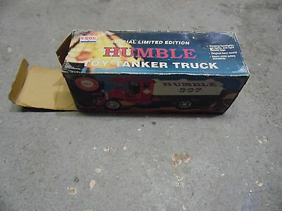 F1m Exxon Humble Toy Tanker Truck 2nd in a Series