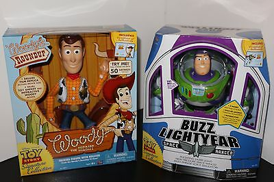 Disney Pixar Signature Collection Buzz Lightyear & Woody Factory Sealed