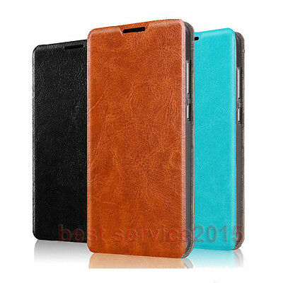 Luxury PU Leather Flip Stand Style Card Slot Case Cover For Asus Zenfone 3