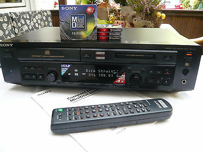 Sony Kopierstation MXD-D4 - Minidisc + CD Player - CD Text  -  MDLP - Longplay