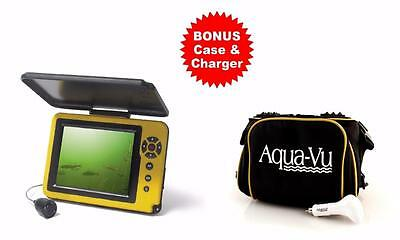 Aqua-Vu AV MICRO 5 DVR Ice Fishing Camera 5 Inch Color BONUS Case & Charger