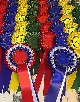 Complete Show Pack-10 Sets 1st-4th +Champion/Reserve Champ Ros FREE 1st Class