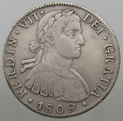 Mexico 8 Reales 1809 Th #t8 055