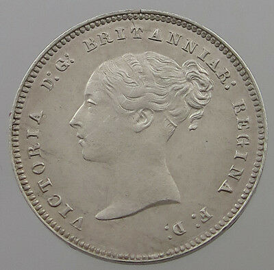 Great Britain 4 Pence 1884 Top  #t7 691