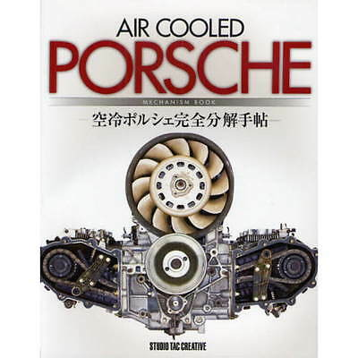 Air Cooled Porsche Mechanism book 930 964 993 engine M64 overhaul  maintenance