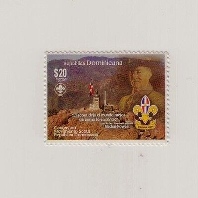 Dominican Republic Scout Movement Centenary MNH 2014