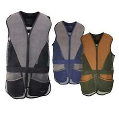 Jack Pyke Sporting Skeet Shooting Vest Clay Pigeon Shooting Pockets Ambidextrous