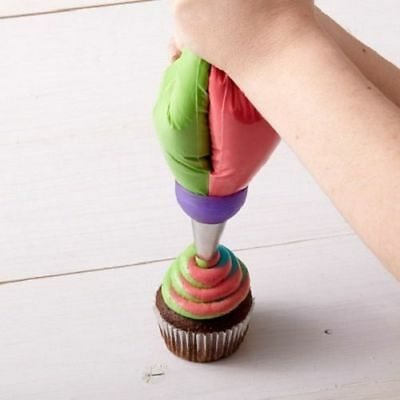 Icing Piping Bag Nozzle Converter Tri Cake Decorating Tools Cupcake Sale HGKD006