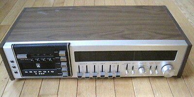 Vintage GRUNDIG S 850 AM/FM/MPX STEREO 8-Track Player Recorder PART/REPAIR
