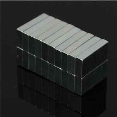 20pcs N52 Block Magnets 10x5x2mm Rare Earth Neodymium Permanent Magnets