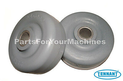 2 Squeegee Wheels, Tennant A5, T5, T2, 5300, 5400, Speed Scrub Scrubbers, 630477