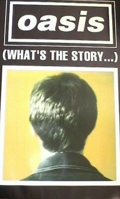 Original Oasis What's The Story Promo Poster