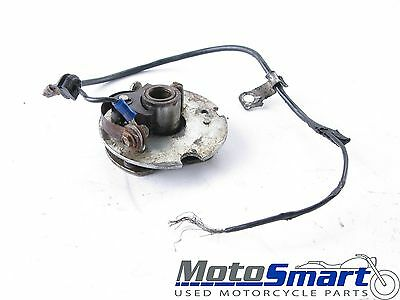 1976 Yamaha XT500 C Points and Advancer Assembly CUT WIRE Poor 123269