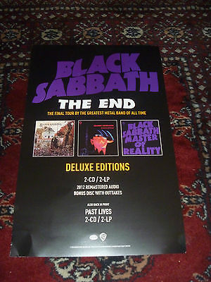 Black Sabbath The End Poster Deluxe Edition 2014 Final Tour Rock Band