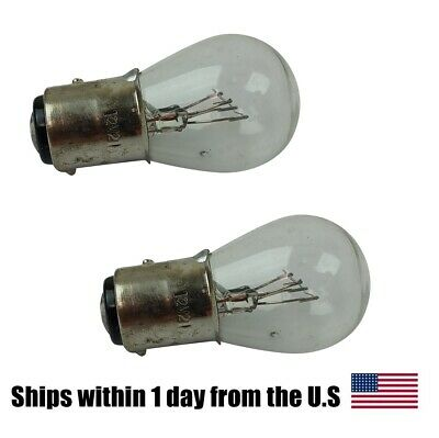 PAIR of  Light Bulb 12V 21/5W for Scooter Moped ATVs Go karts