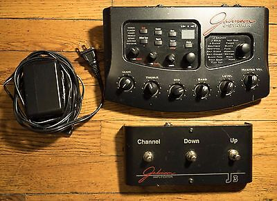 Johnson J Station Multi Effects Guitar Pedal with foot switch