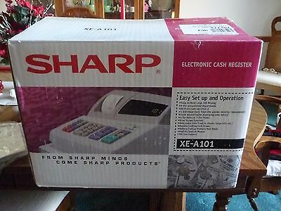Sharp Electronic Cash Register Model XE-A101~Never Used